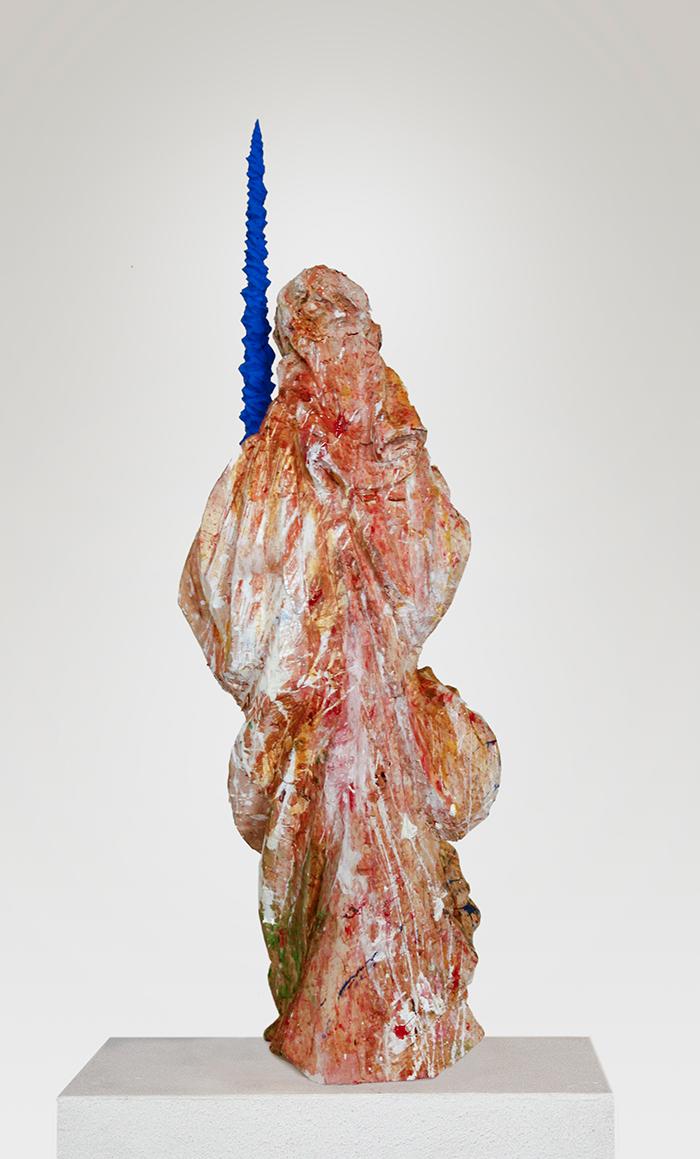 Lindenholz fabig gefasst; Pappel ( -blau.hund) 16 H62B16T12